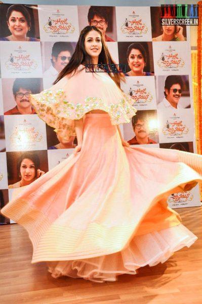 Lavanya Tripathi at Soggade Chinni Nayana Promotions