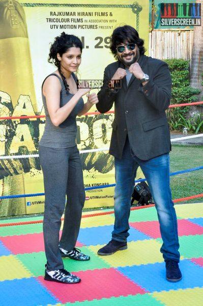 Saala Khadoos Lead Actress Ritika Singh Introduced by R Madhavan