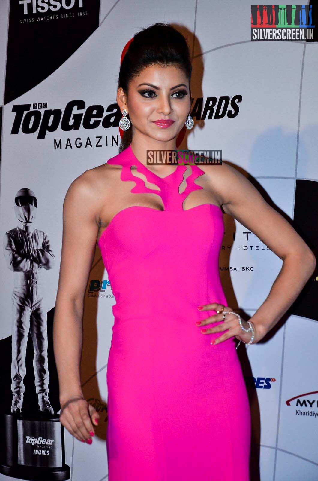 Sunny Leone At The Top Gear Awards Silverscreen In