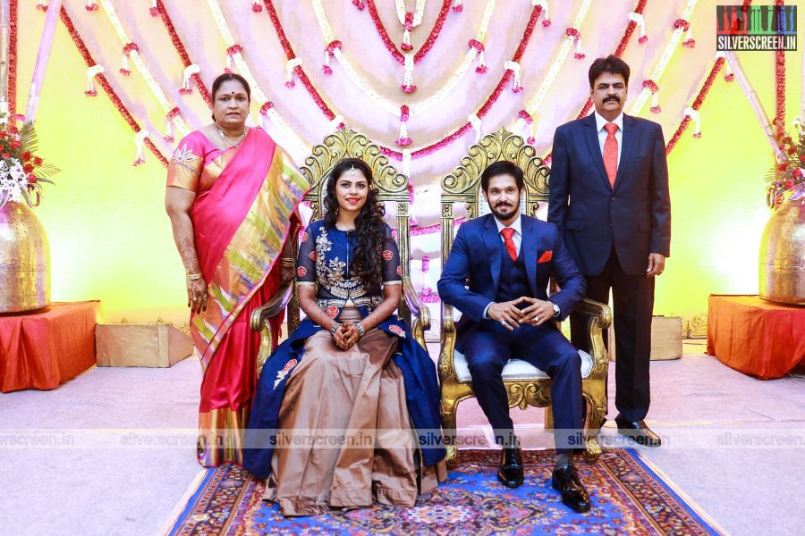 Actor Nakul-Sruti Wedding Reception Stills