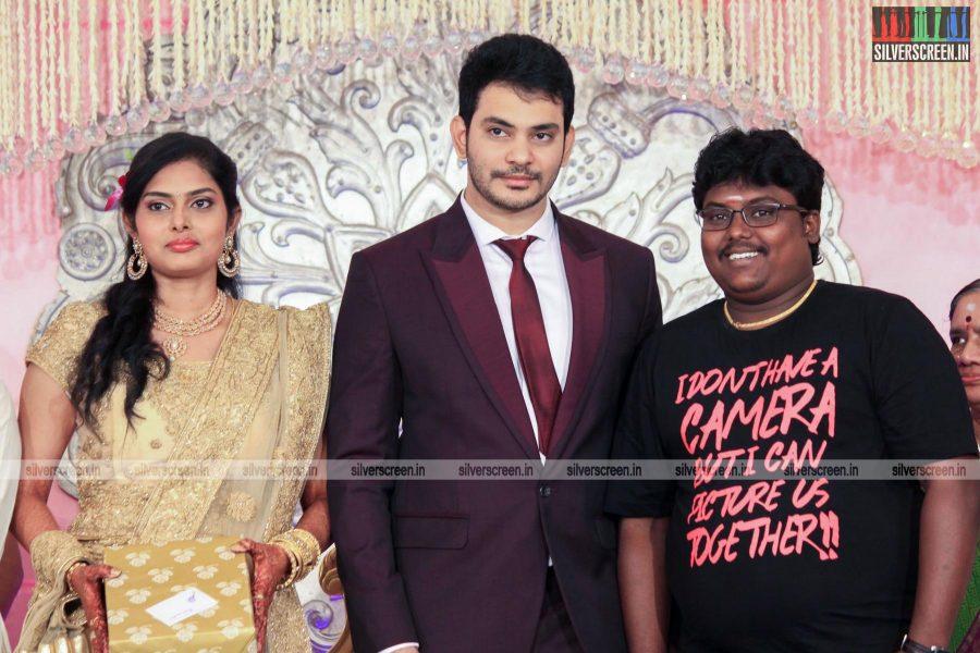 Actor Sethu Wedding Reception Photos