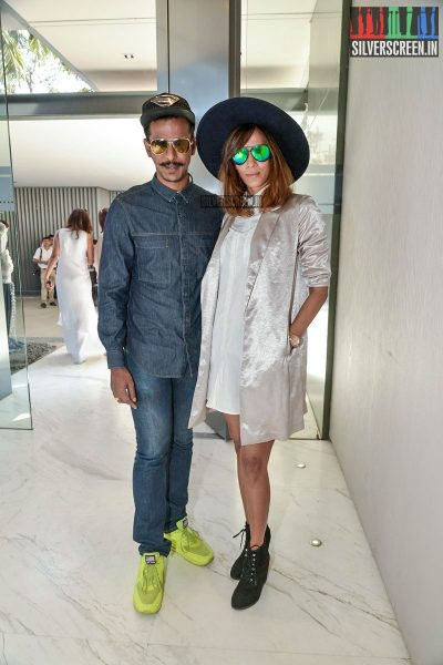 Huma Qureshi and Elli Avram at the Shane Falguni brunch for Rustomjee