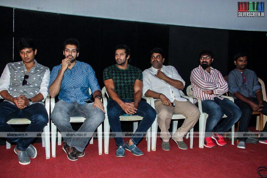 Pokkiri Raja Trailer Launch Photos