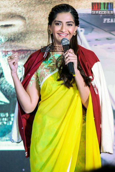 Sonam Kapoor at the Neerja Promotions