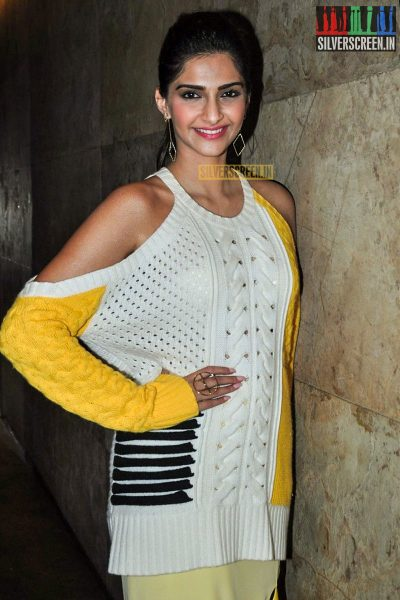 Sonam Kapoor at the Neerja Song Launch