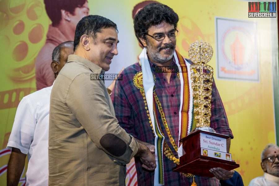at South Indian Film PRO Union's MGR-Sivaji Academy Awards-2015