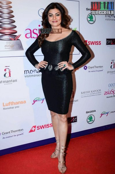 Celebrities at the Asia Spa Awards