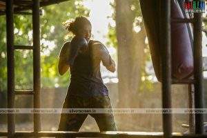 Ritika Singh in Irudhi Suttru Movie Stills
