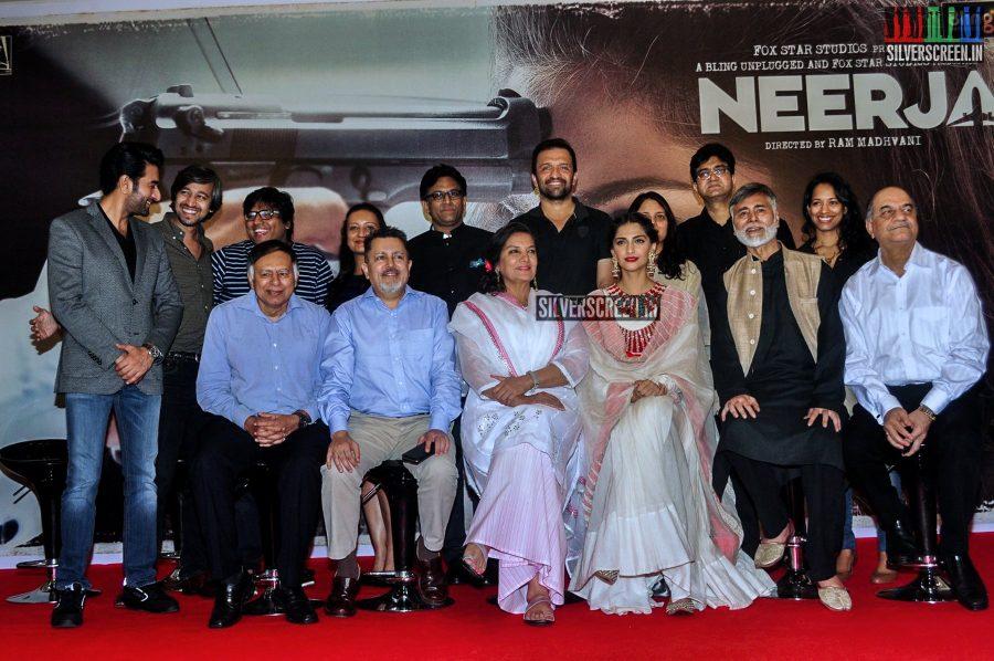 Sonam Kapoor at Neerja Promotions
