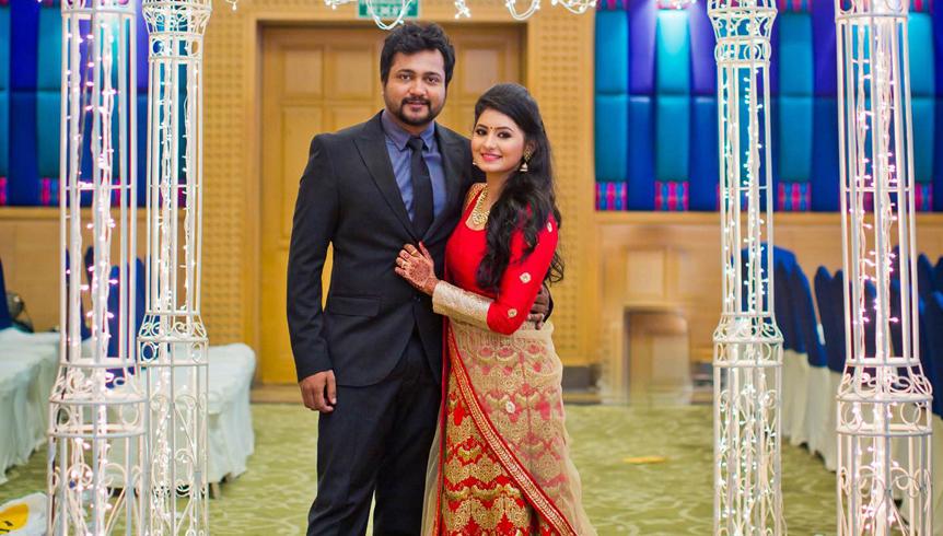 Bobby Simha Reshmi Menon Wedding Reception Photos