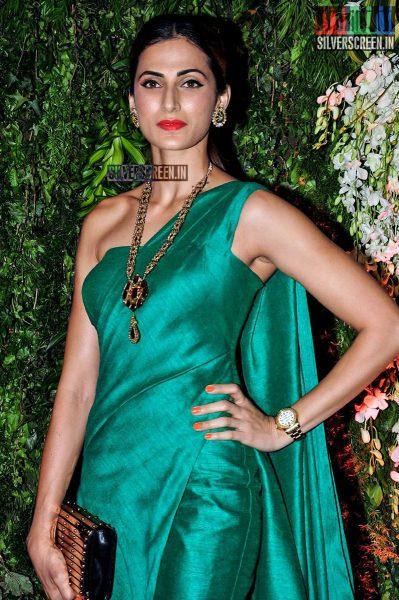 Celebrities at Sreeja Konidela Wedding Reception Photos