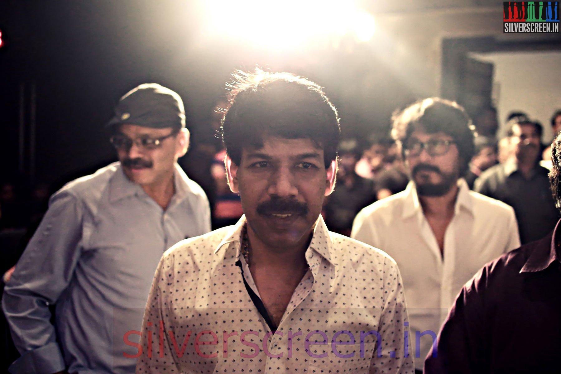 Director Bala at the Amara Kaaviyam Audio Launch