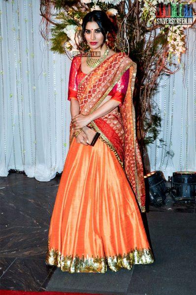 Celebrities at Bipasha Basu-Karan Singh Grover's Wedding Reception