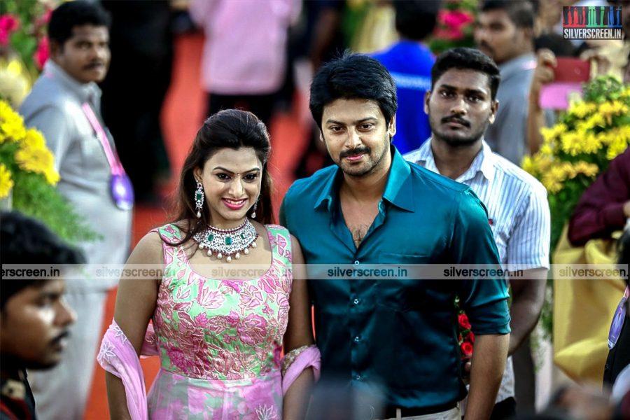 Celebrities at Director KS Ravikumar Daughter Wedding Reception