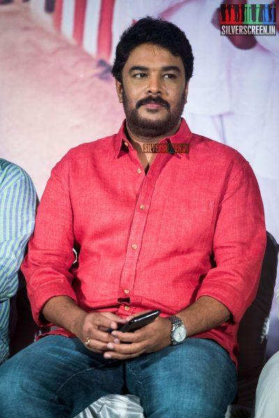 Sundar C at Muthina Kathirikai Audio Launch