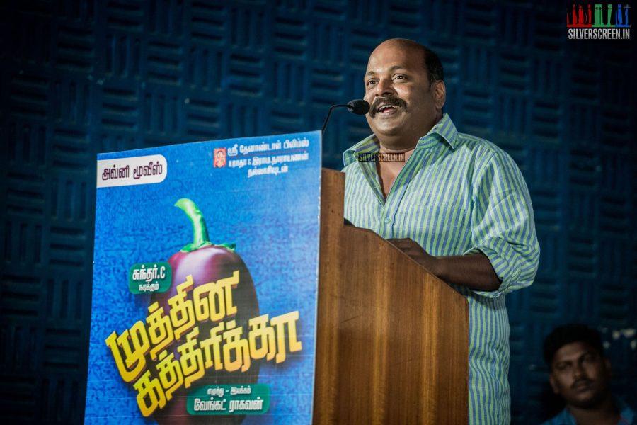 Singampuli at Muthina Kathirikai Audio Launch
