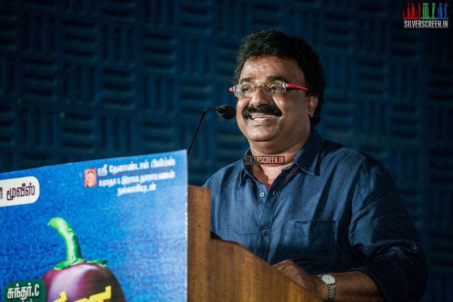 VTV Ganesh at Muthina Kathirikai Audio Launch