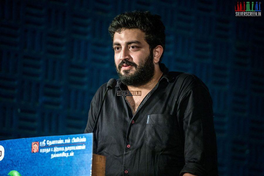 Siddarth Vipin at Muthina Kathirikai Audio Launch
