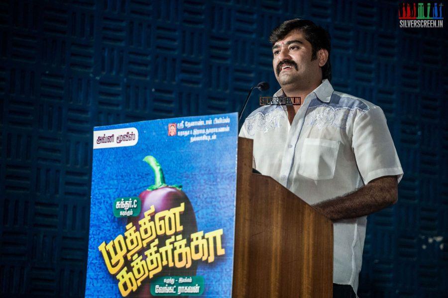 Venkat Raghavan at Muthina Kathirikai Audio Launch
