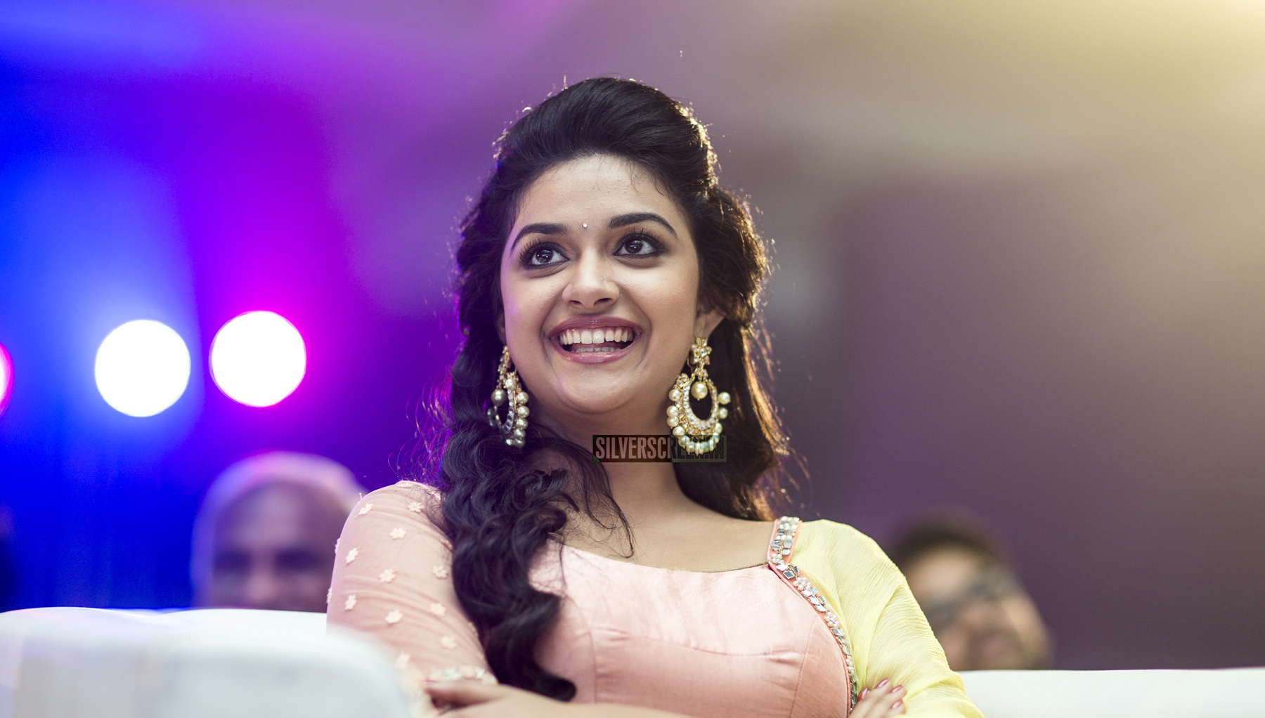 Keerthy Suresh at Remo First Look Launch - Silverscreen.in