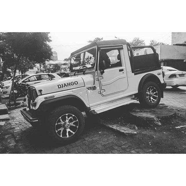 Harshavardhan Rane's Jeep, Django