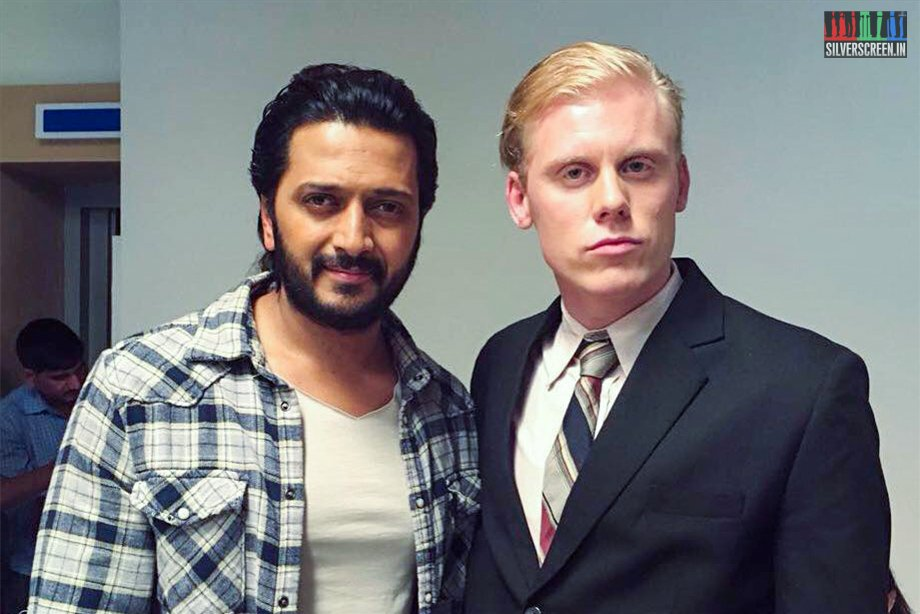 Hampus with Riteish Deshmukh