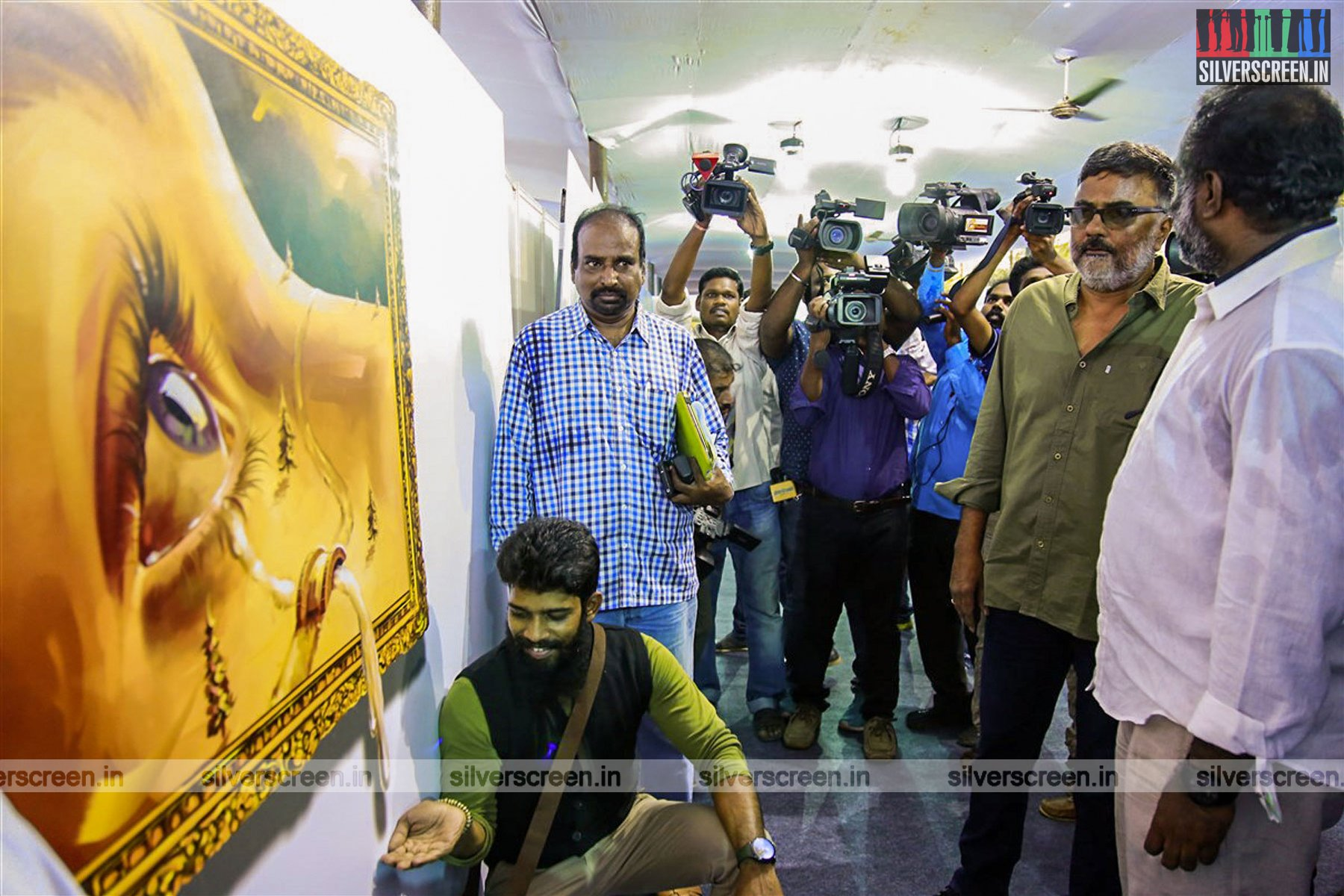 """""""Perspective is really important for trick art"""", PC Sreeram at the Chennai Book Fair"""