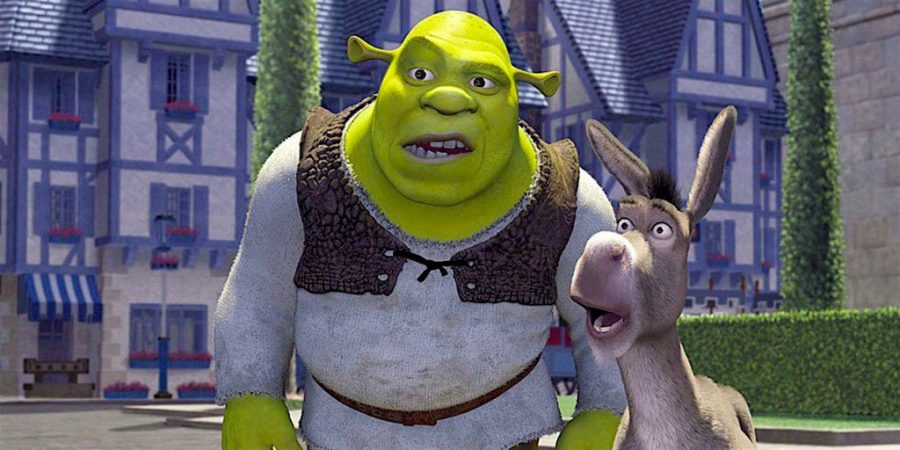 a review of the fairy tales in the movie shrek