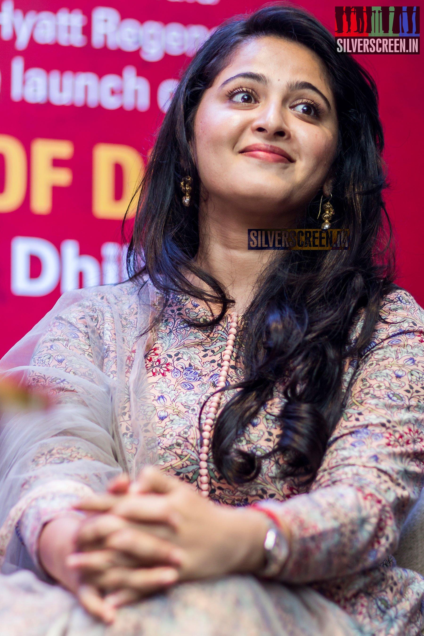 Anushka Shetty at Kanika Dhillon's The Dance of Durga Book ...