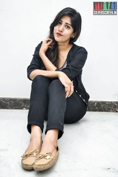 Chandini Chowdary at Kundanapu Bomma Audio Launch