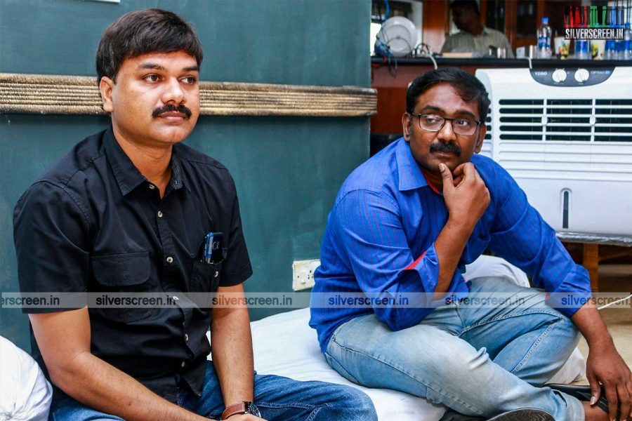 Director Lingusamy at the Lingu 2 Book Launch