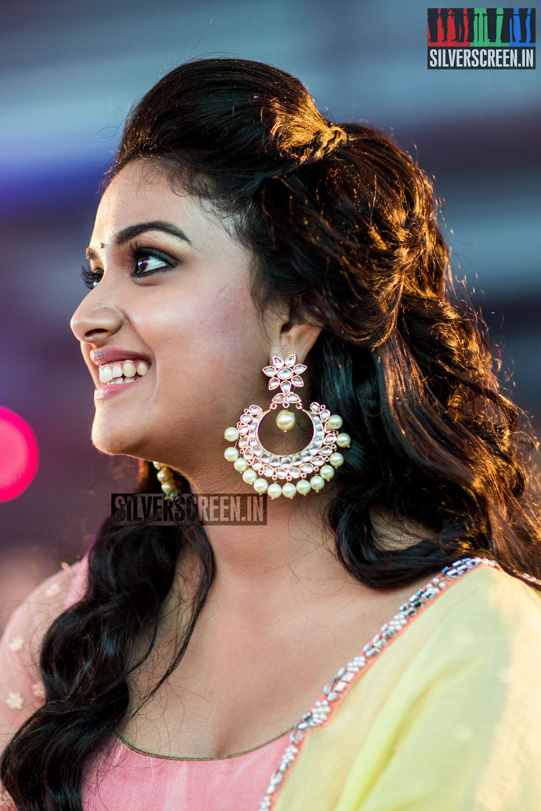 Privacy Policy >> Keerthy Suresh at Remo First Look Launch | Silverscreen.in