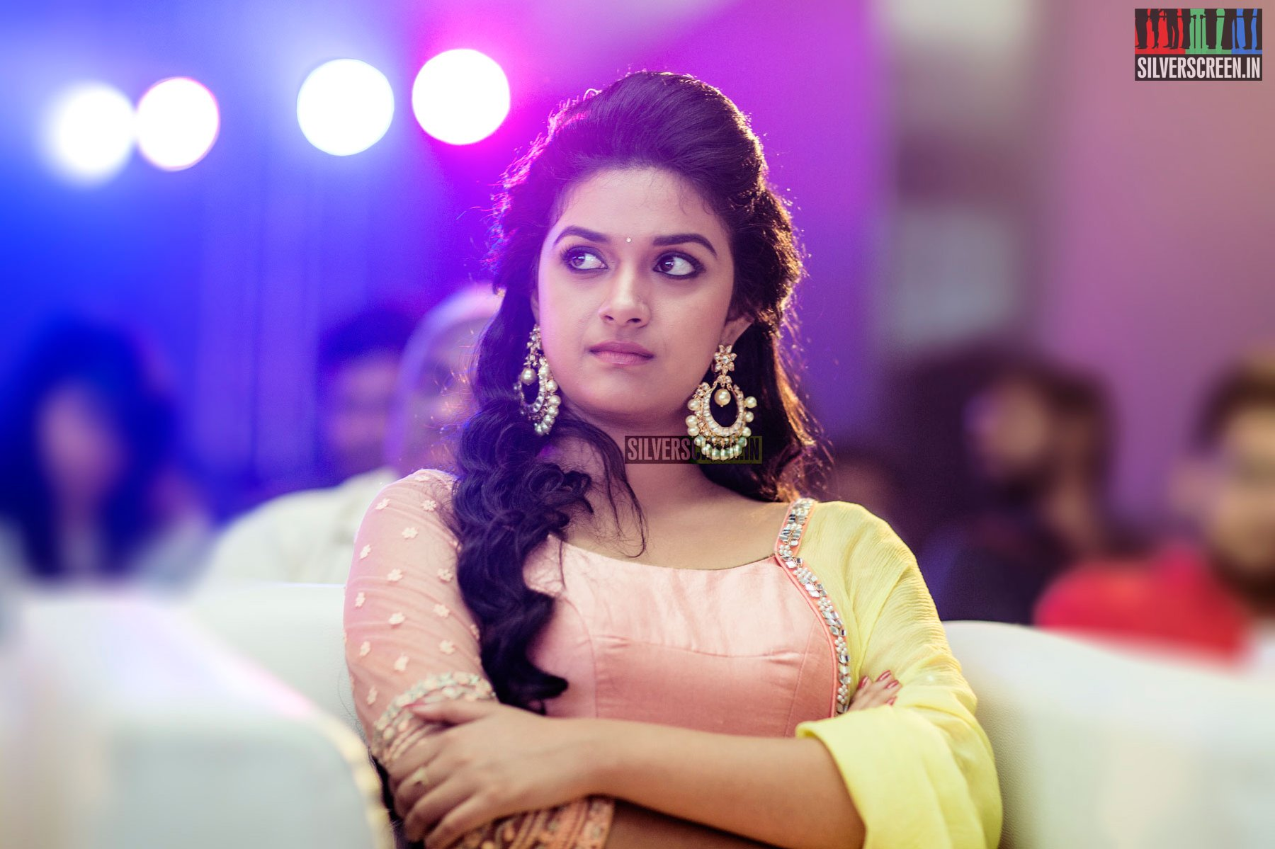 Keerthy Suresh at Remo First Look Launch   Silverscreen.in