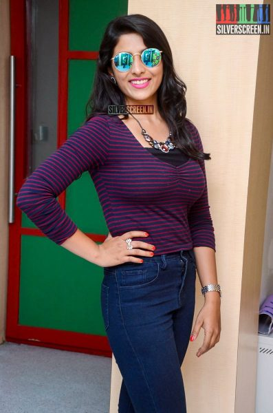 Kruthika Jayakumar at Rojulu Marayi Song Launch at Radio Mirchi