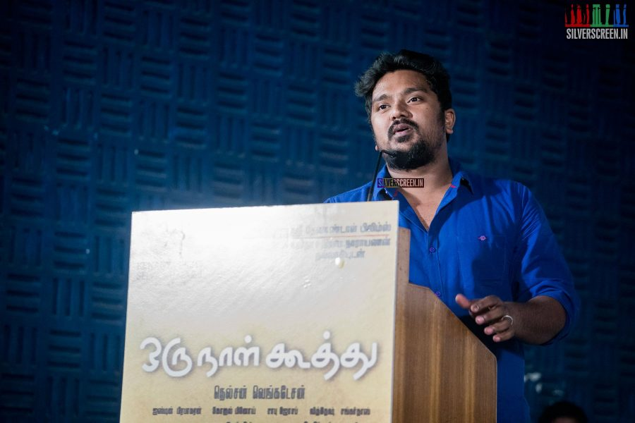 at Oru Naal Koothu Press Meet