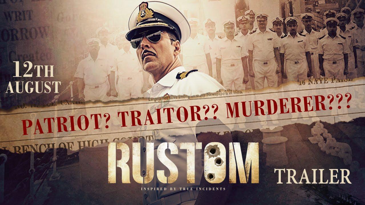 Rustom Trailer Released