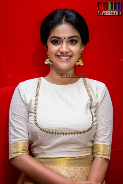 Keerthy Suresh at Thodari Audio Launch