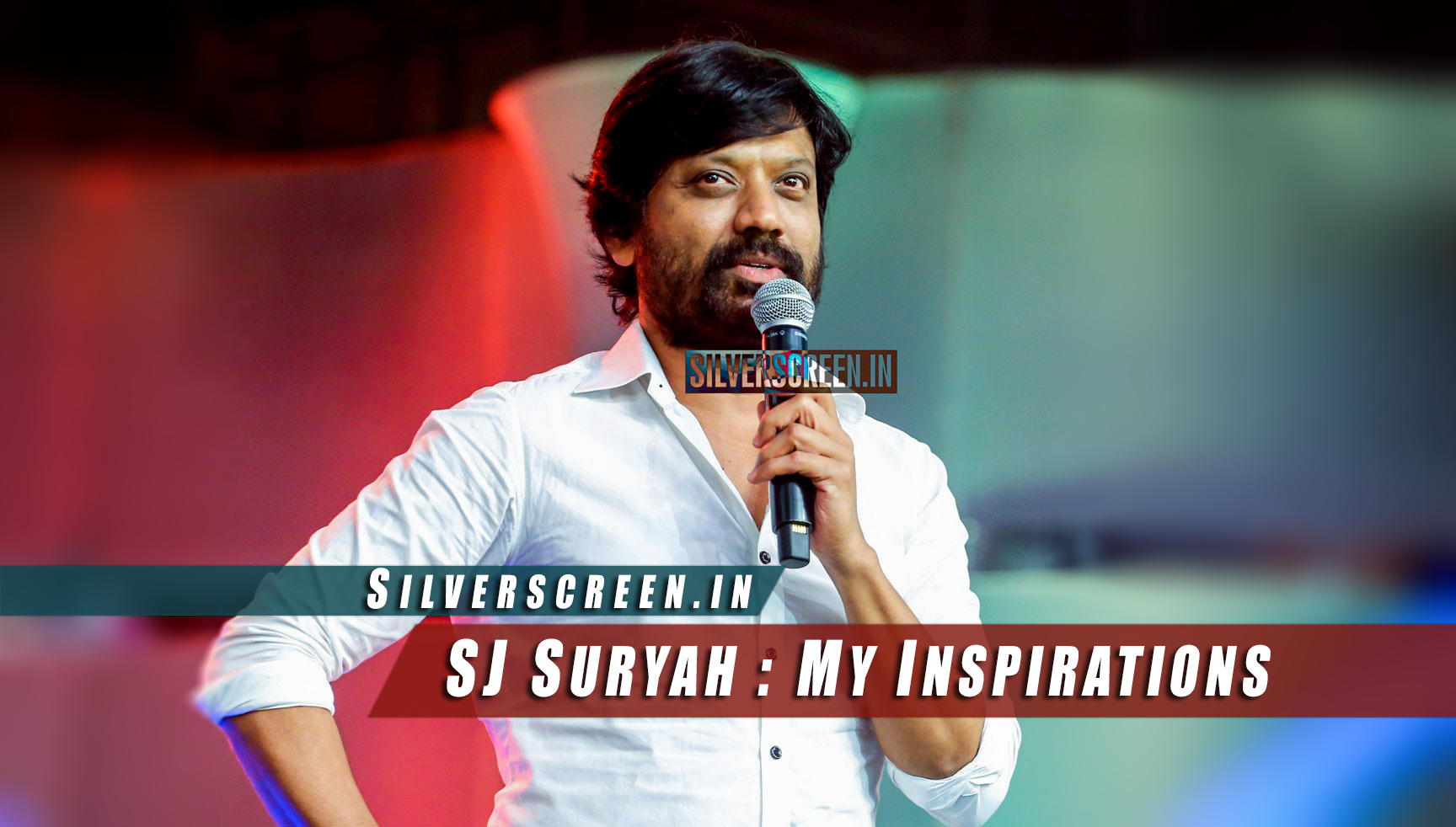 SJ Surya at Puli Audio Launch
