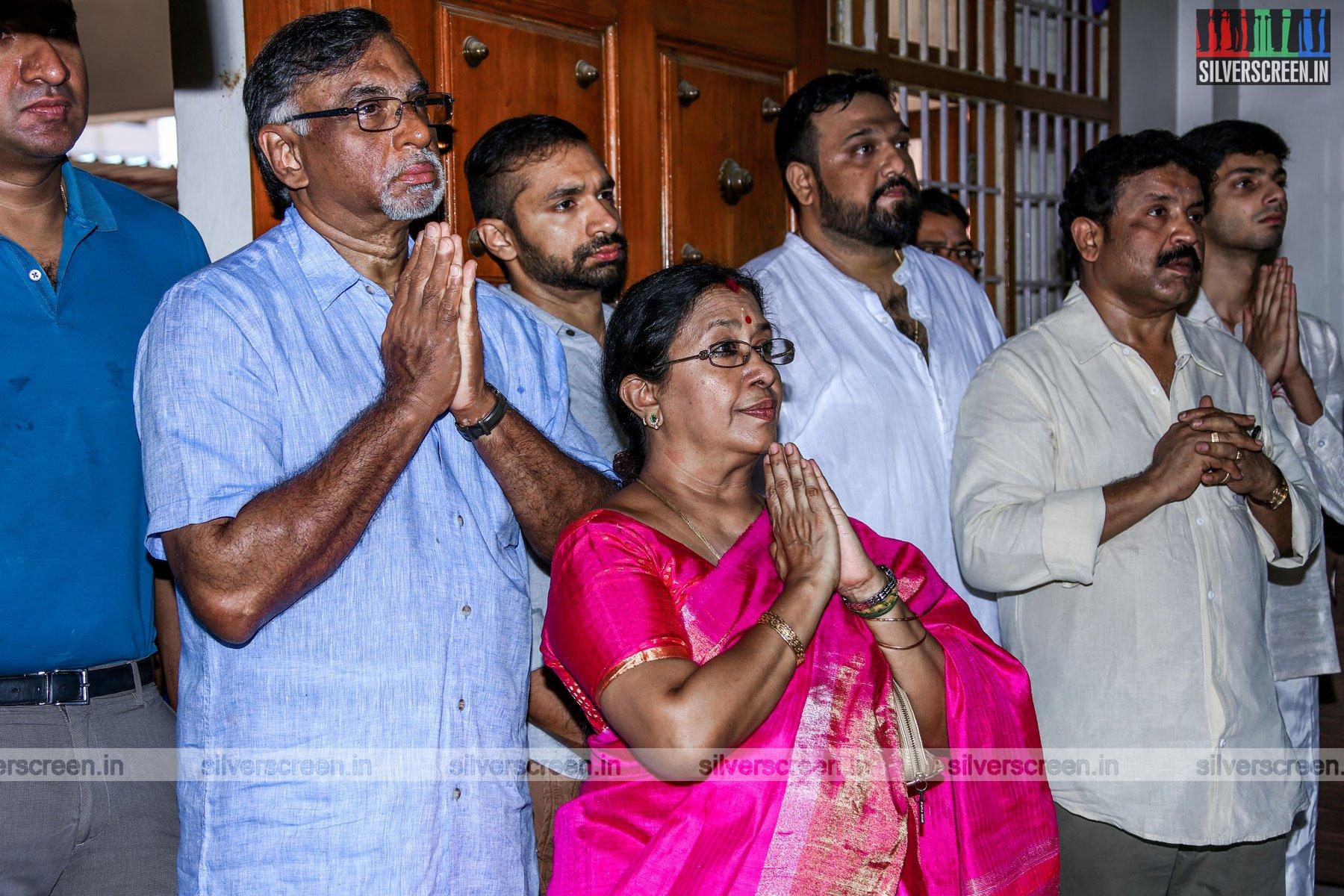 Ajith Kumar 57 Movie Launch Photos Silverscreenin