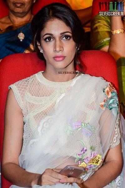 Lavanya Tripathi at Babu Bangaram Audio Launch