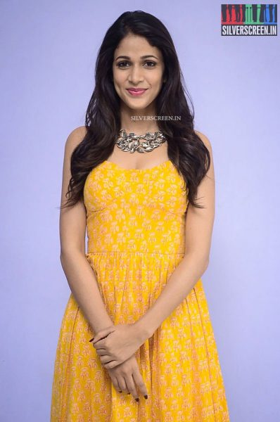 Lavanya Tripathi at Srirastu Subhamastu Song Launch