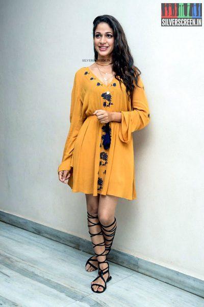 Lavanya Tripathi at Srirastu Subhamastu Trailer Launch