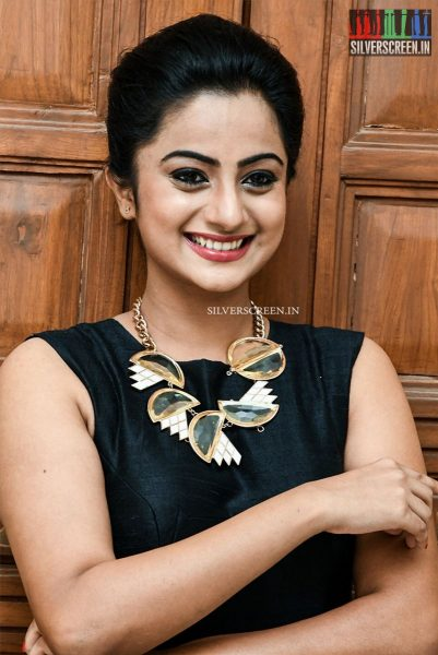 Namitha Pramod at Chuttalabbayi Audio Launch