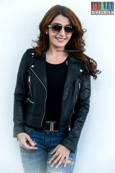 Sonia Mann at Dr Chakravarthy Movie Promotions