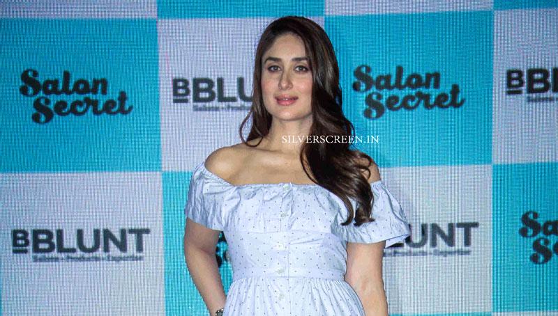 Kareena kapoor at the launch of bblunt salon secret for Bblunt salon secret