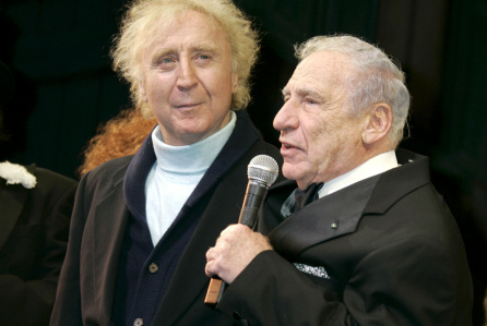 Gene Wilder and Mel Brooks Photo Credit: Gregory Pace/ Deadline