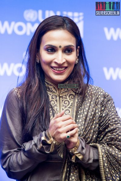 at Announcement of Aishwarya Dhanush Appointment as UN Women's Goodwill Advocate for South India