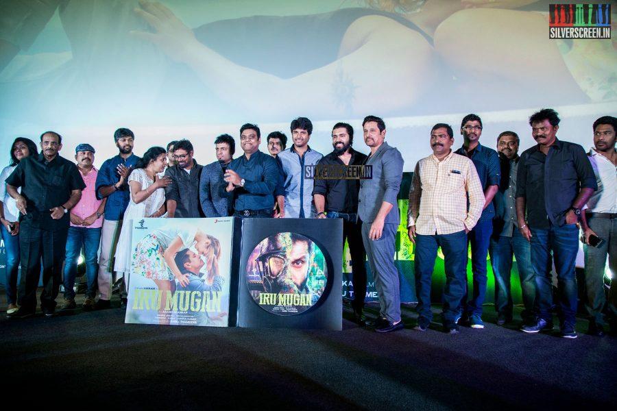 at Iru Mugan Audio Launch