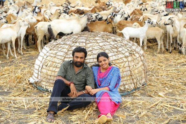 Sasikumar and Nikhila in Kidaari Movie Stills