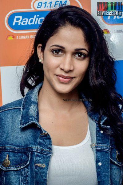 Lavanya Tripathi at Srirastu Subhamastu Movie Promotions